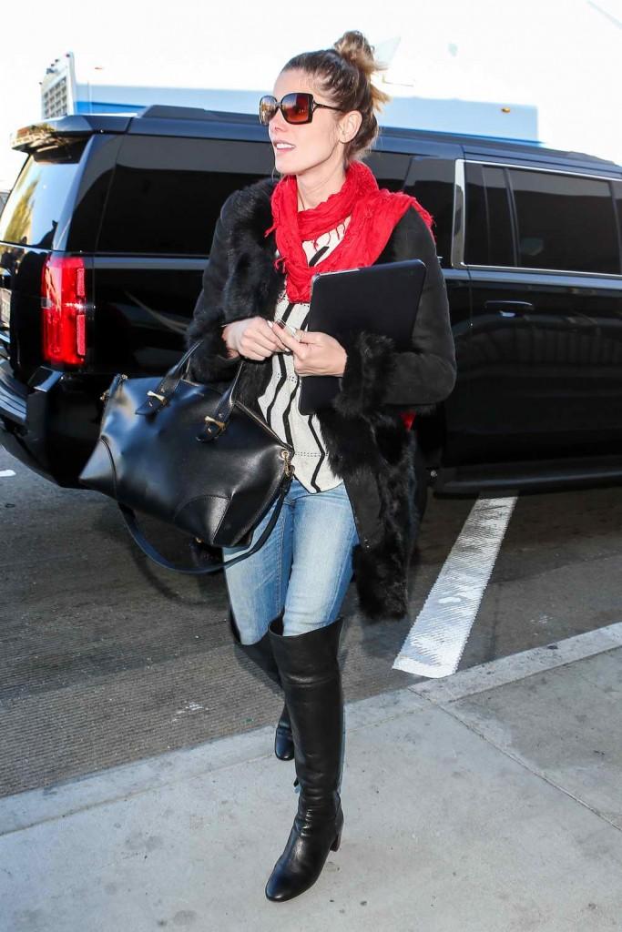Ashley Greene at LAX Airport 12/29/2015-3