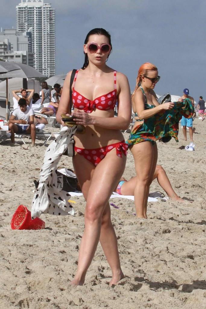 Daisy Lowe in Bikini in Miami 12/29/2015-3