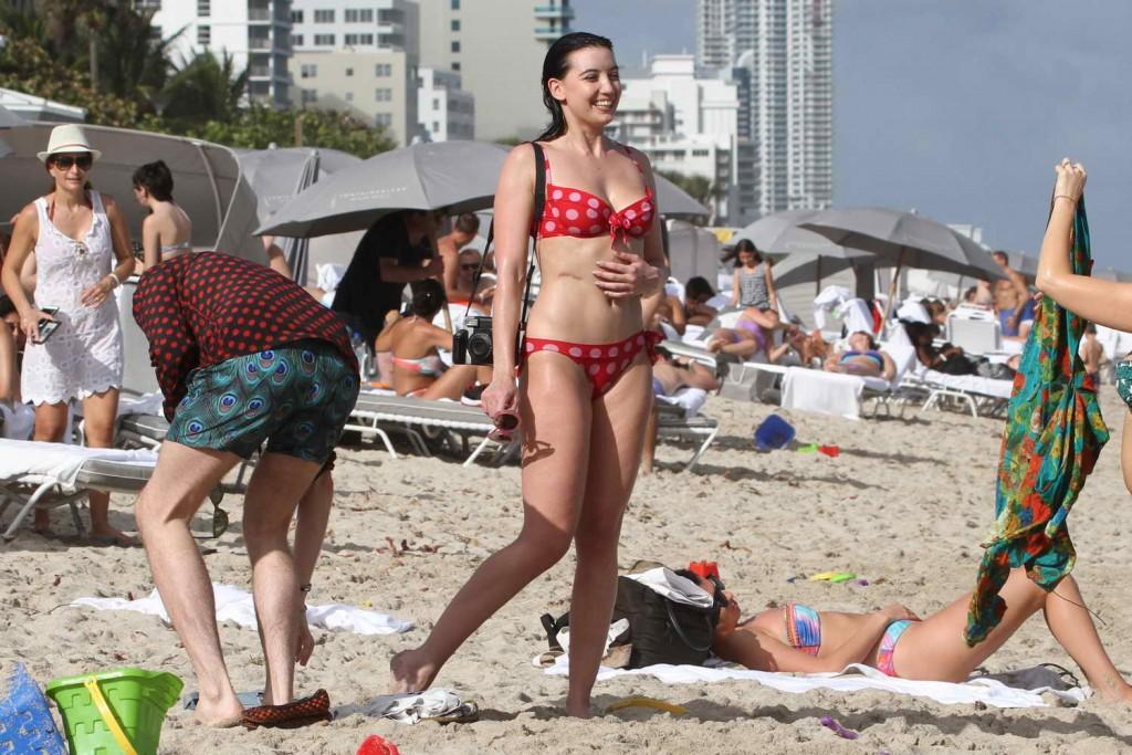 Daisy Lowe in Bikini in Miami 12/29/2015-4