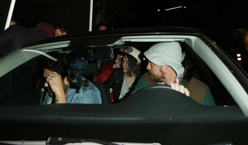 Kristen Stewart - leaving The Nice Guy in West Hollywood 12/30/15-1