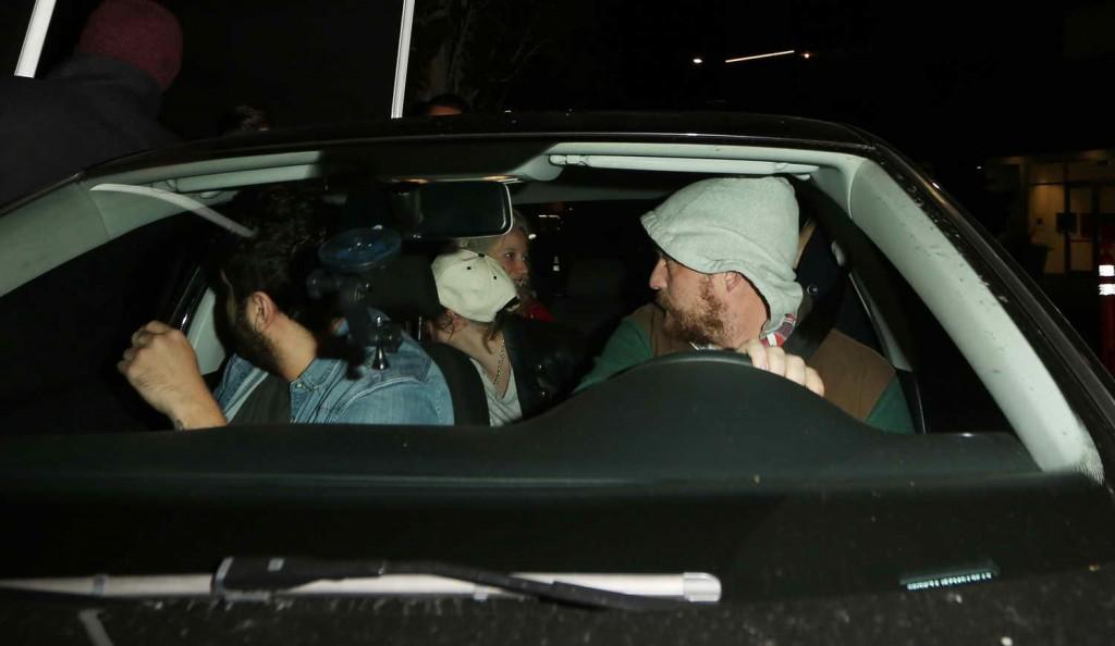 Kristen Stewart Leaving The Nice Guy in West Hollywood 12/30/2015-3