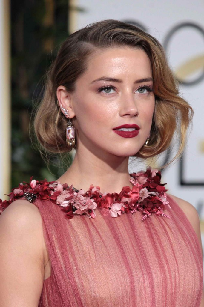 Amber Heard at 73rd Annual Golden Globe Awards in Beverly Hills 01/10/2016-3