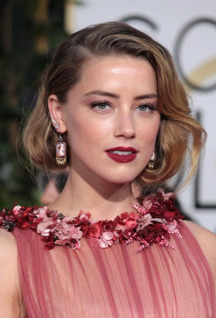 Amber Heard at 73rd Annual Golden Globe Awards in Beverly Hills 01/10/2016-5