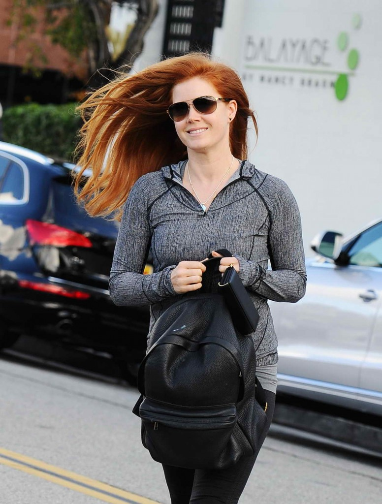 Amy Adams Out in Los Angeles 01/07/2016-1