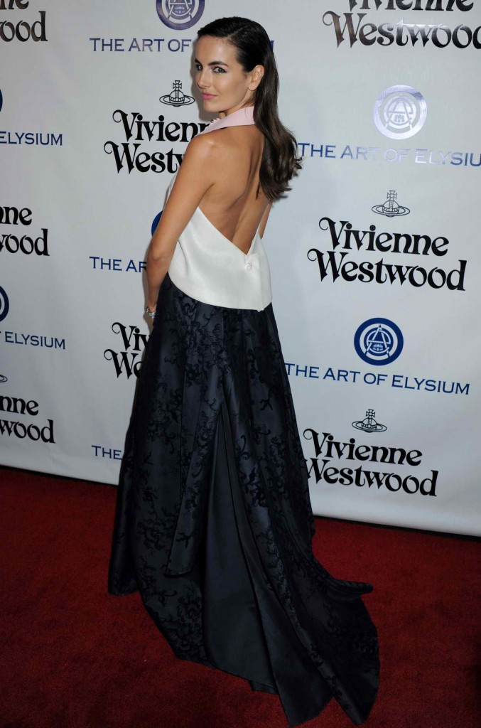 Camilla Belle at the Art of Elysium 2016 HEAVEN Gala in Culver City 01/09/2016-2