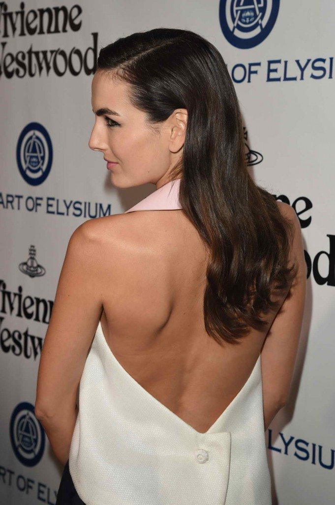 Camilla Belle at the Art of Elysium 2016 HEAVEN Gala in Culver City 01/09/2016-4