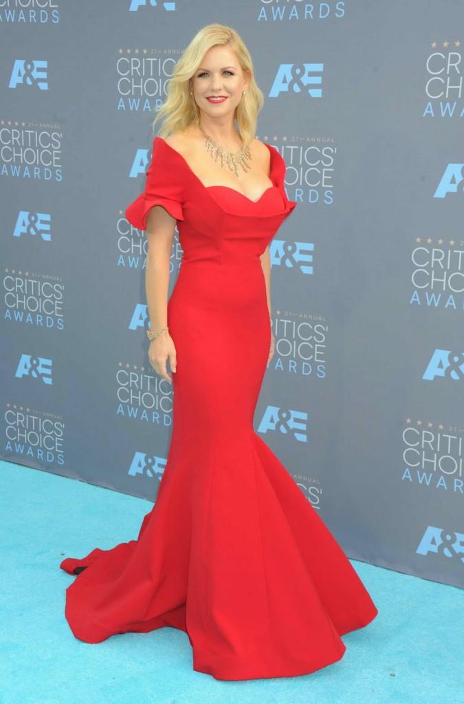 Carrie Keagan at the 21st Annual Critics' Choice Awards in Santa Monica 01/17/2016-1