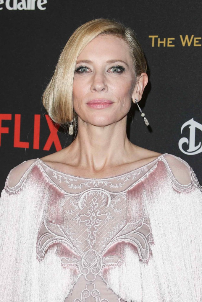 Cate Blanchett at the Weinstein Company and Netflix Golden Globe Party in Beverly Hills 01/10/2016-5