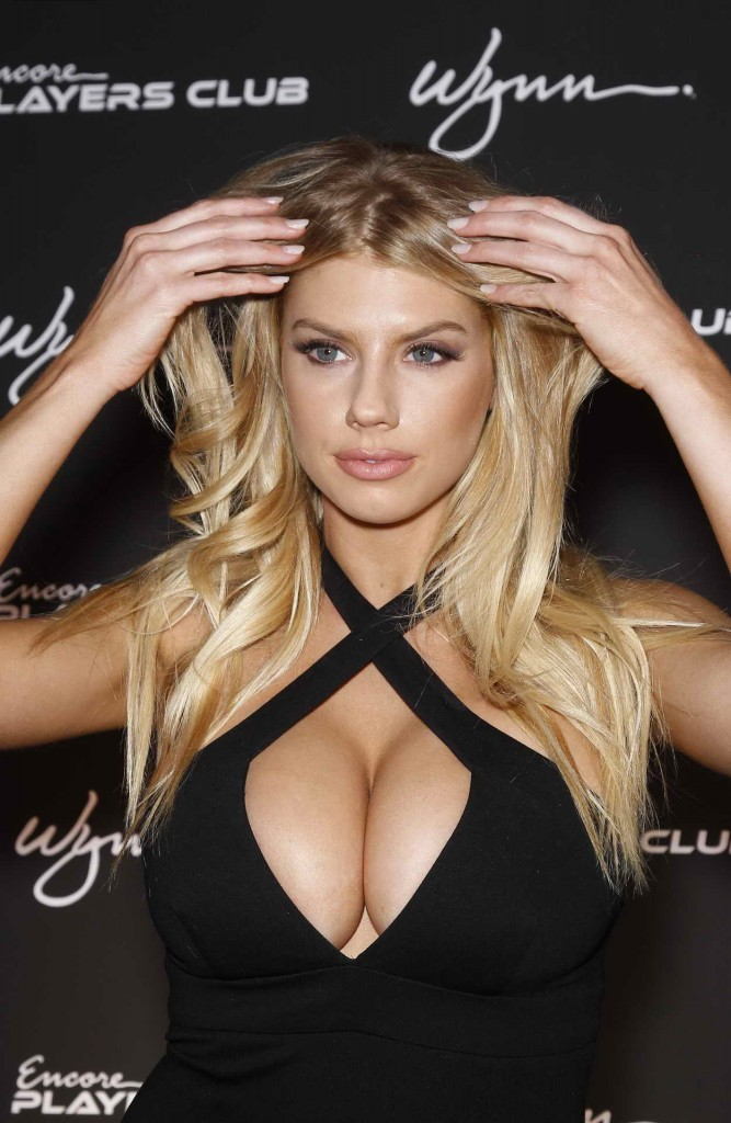 Charlotte McKinney at Encore Player's Club Grand Opening in Las Vegas 01/06/2016-2