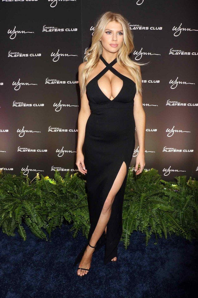 Charlotte McKinney at Encore Player's Club Grand Opening in Las Vegas 01/06/2016-4