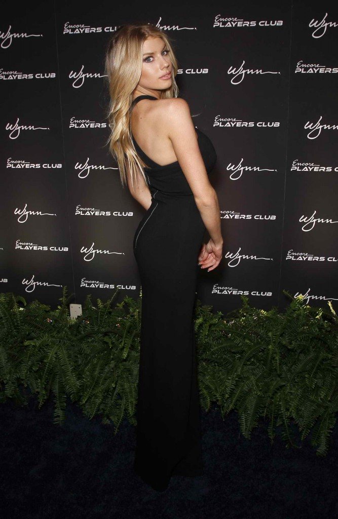 Charlotte McKinney at Encore Player's Club Grand Opening in Las Vegas 01/06/2016-5