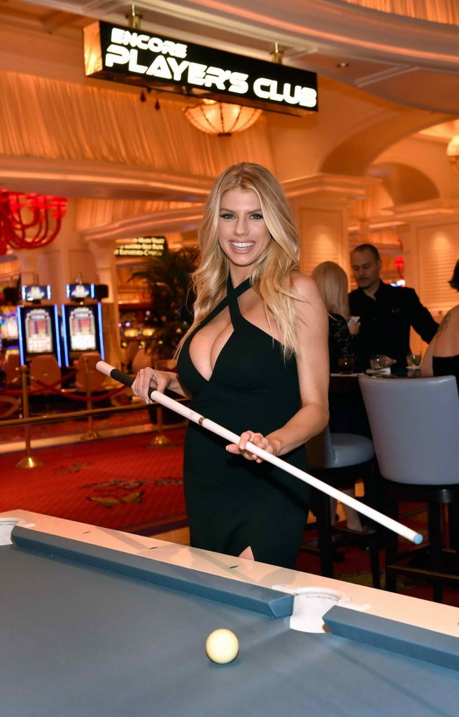 Charlotte McKinney at Encore Player's Club Grand Opening in Las Vegas 01/06/2016-6