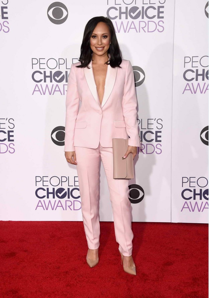 Cheryl Burke at 2016 People's Choice Awards in LA 01/06/2016-1