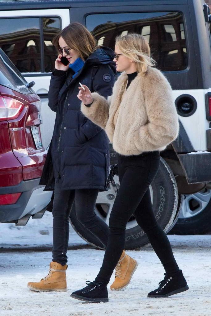 Dakota Johnson Out in Aspen 12/30/2015-3