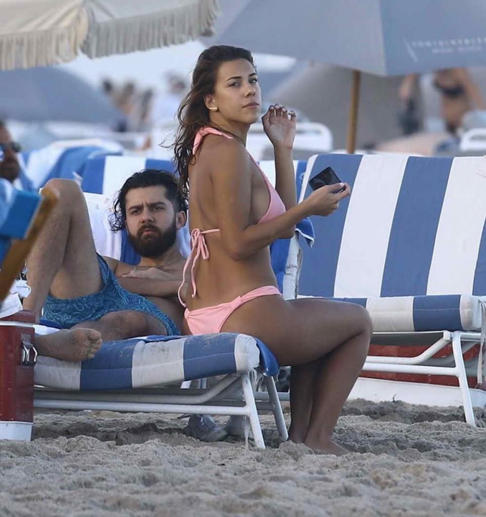 Devin Brugman in Bikini in Miami 12/30/15-3