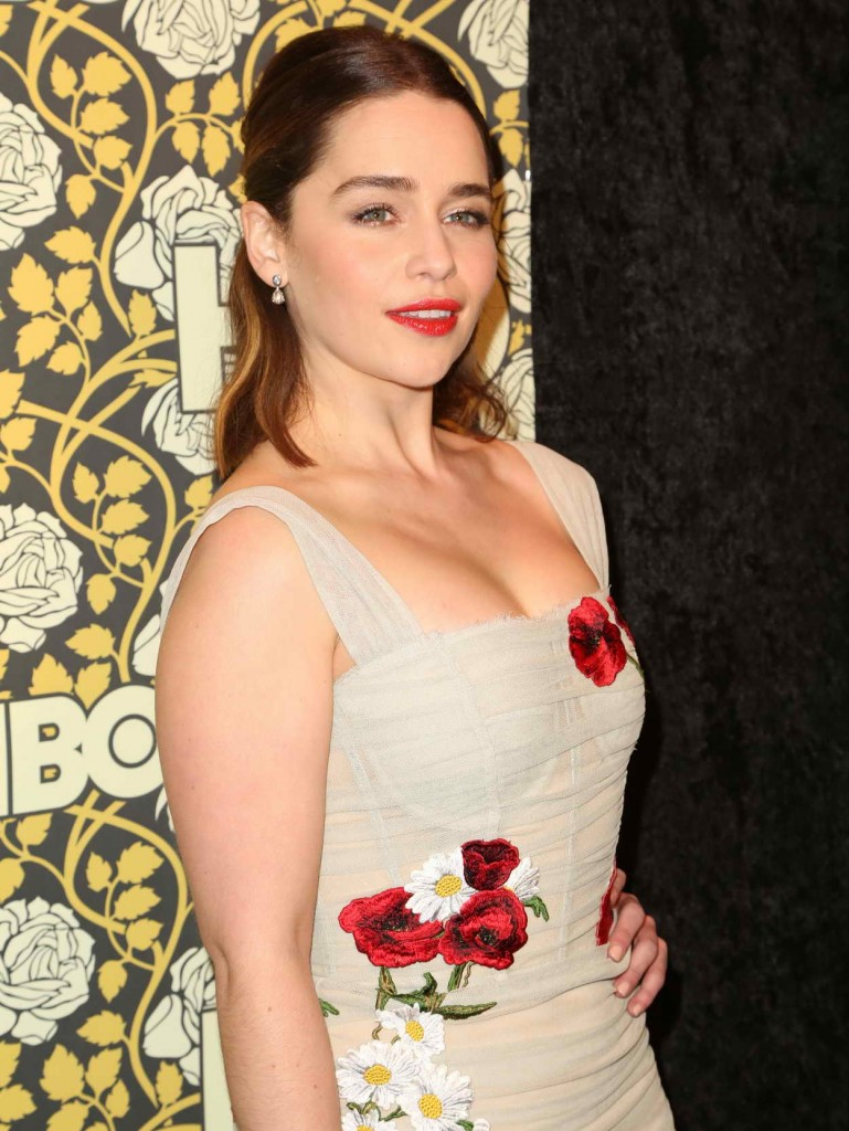 Emilia Clarke at HBO's Post 2016 Golden Globe Awards Party in Los Angeles 01/10/2016-2