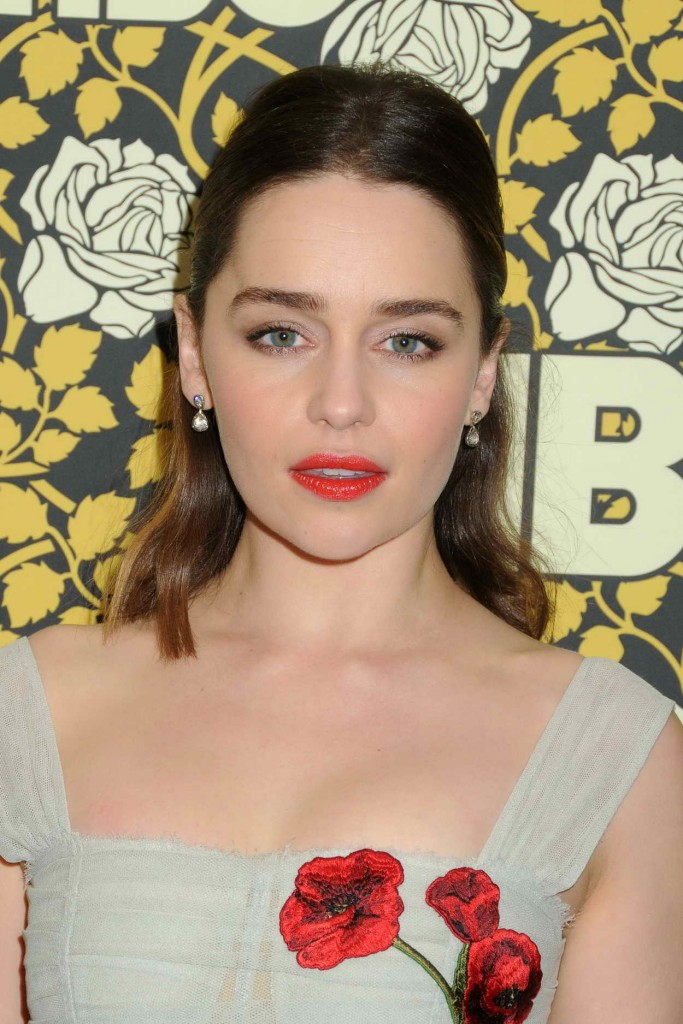 Emilia Clarke at HBO's Post 2016 Golden Globe Awards Party in Los Angeles 01/10/2016-3