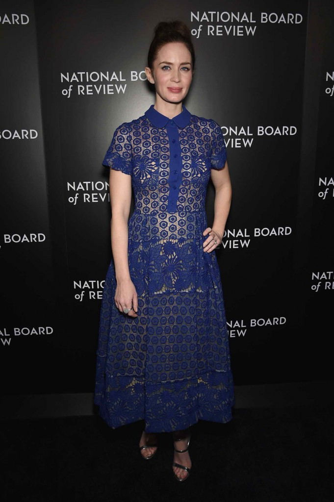 Emily Blunt at National Board of Review Awards Gala in New York 01/05/2016-1
