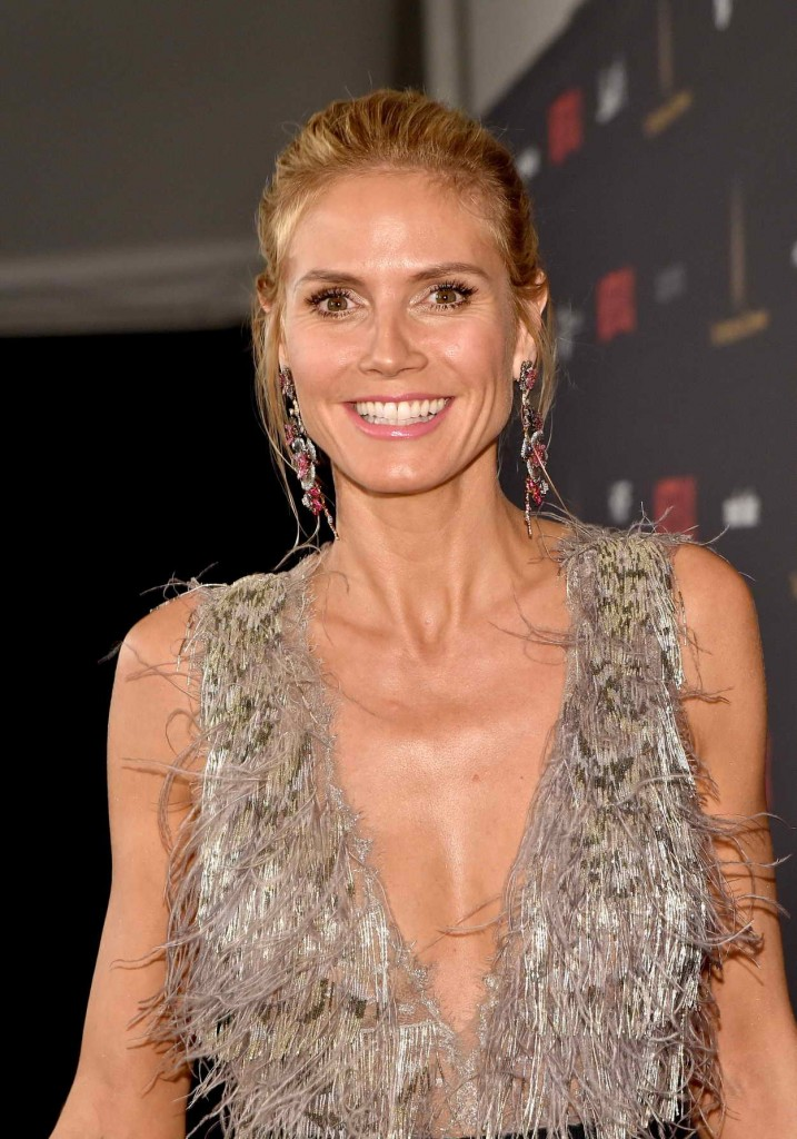 Heidi Klum at the Weinstein Company and Netflix Golden Globe Party in Beverly Hills 01/10/2016-3
