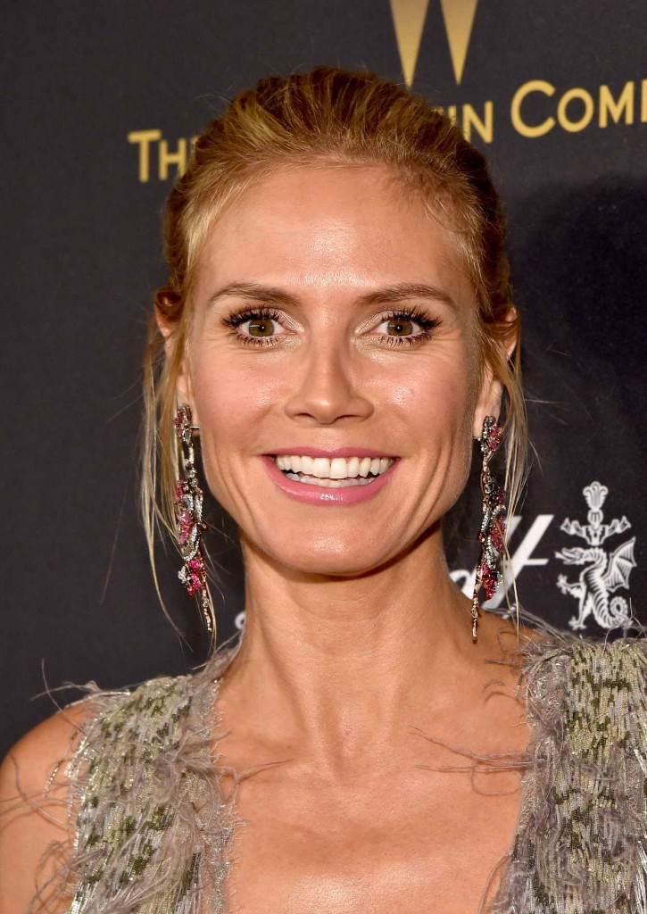 Heidi Klum at the Weinstein Company and Netflix Golden Globe Party in Beverly Hills 01/10/2016-5