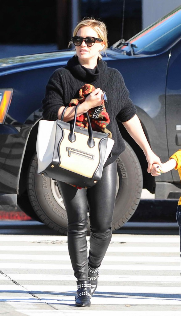 Hilary Duff With Her Son in Los Angeles 01/08/2016-3
