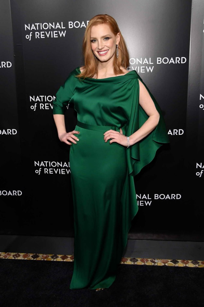 Jessica Chastain at National Board of Review Awards Gala in New York 01/05/2016-1