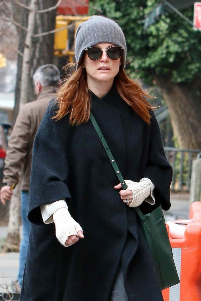 Julianne Moore Out in NYC 01/15/2016-2