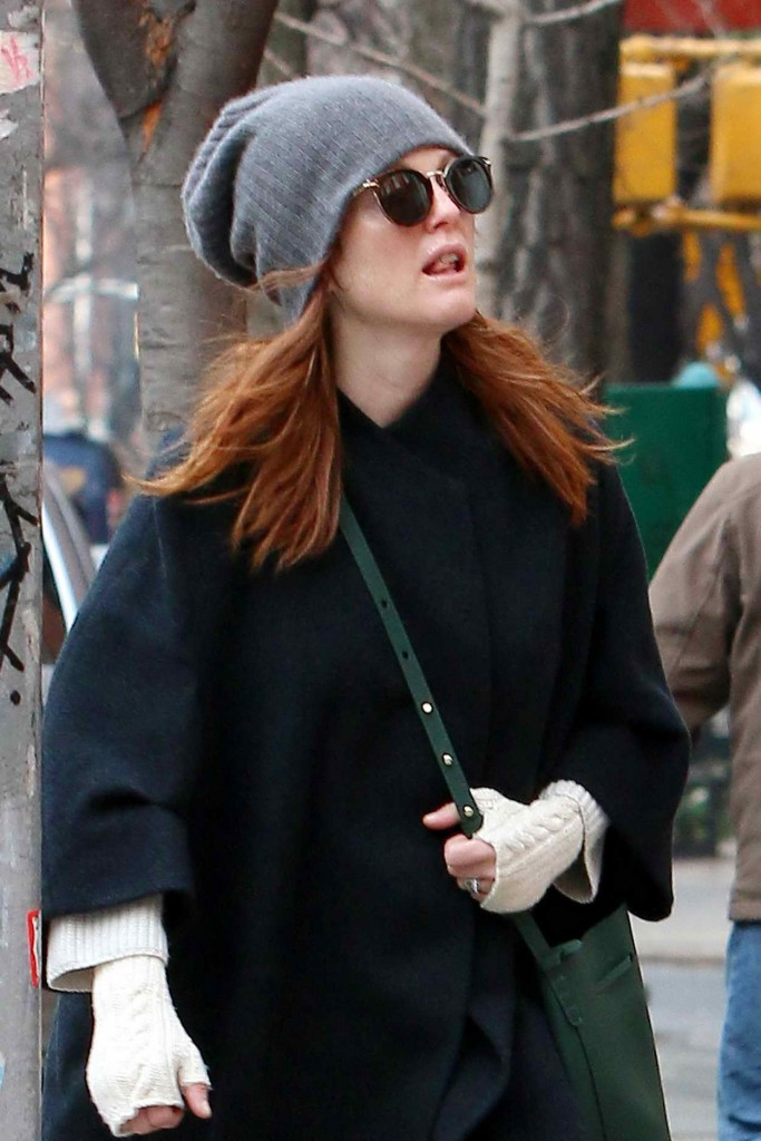 Julianne Moore Out in NYC 01/15/2016-3