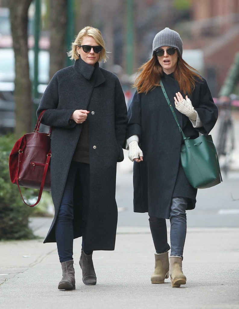 Julianne Moore Out in NYC 01/15/2016-5