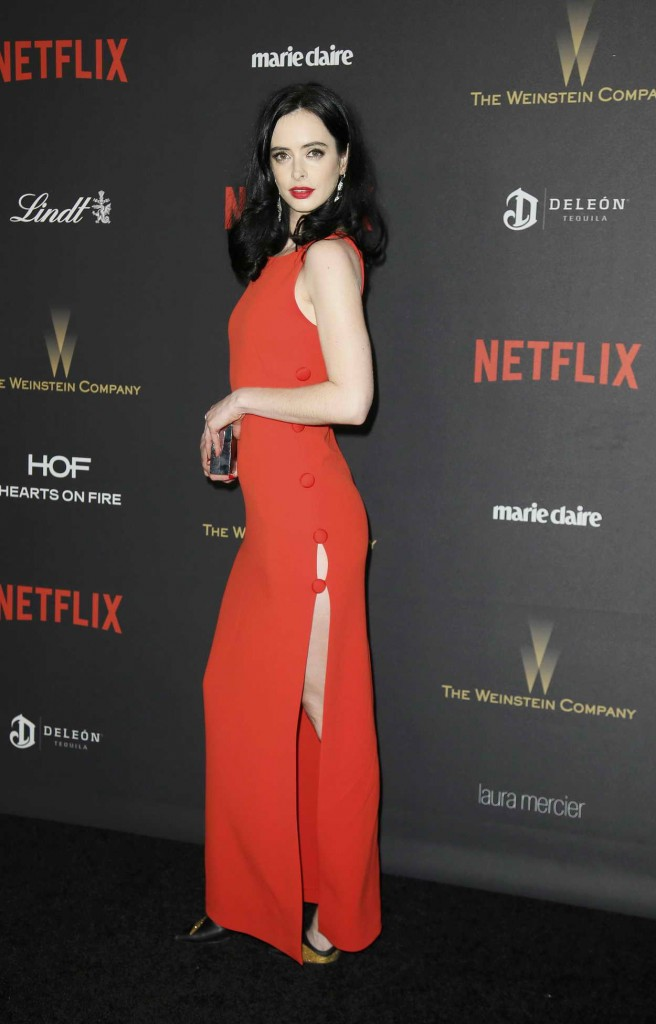 Krysten Ritter at the Weinstein Company and Netflix Golden Globe Party in Beverly Hills 01/10/2016-2