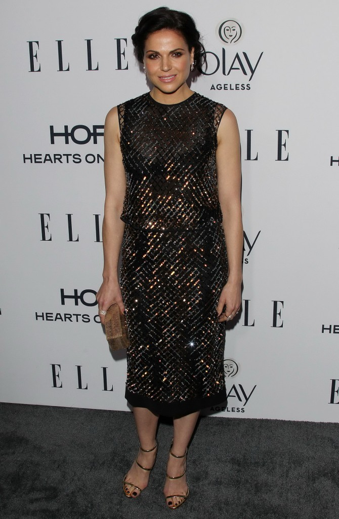 Lana Parrilla at ELLE's 6th Annual Women In Television Dinner in West Hollywood 01/20/2016-1