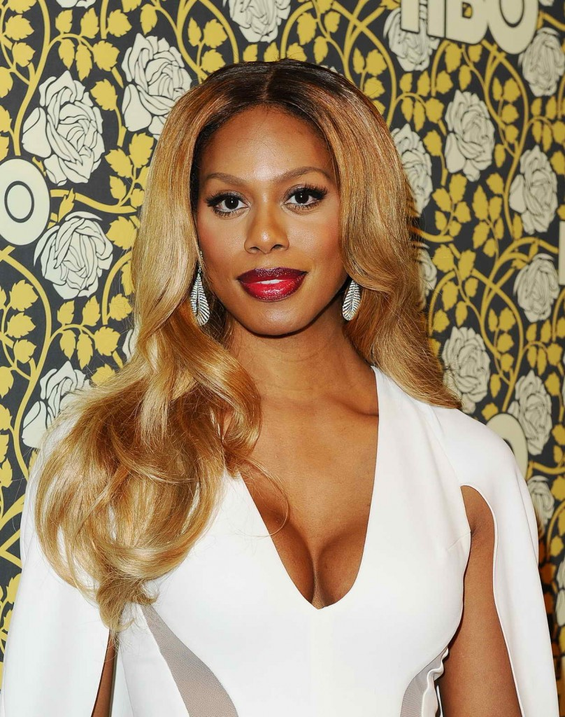 Laverne Cox at HBO's Post 2016 Golden Globe Awards Party in Los Angeles 01/10/2016-3