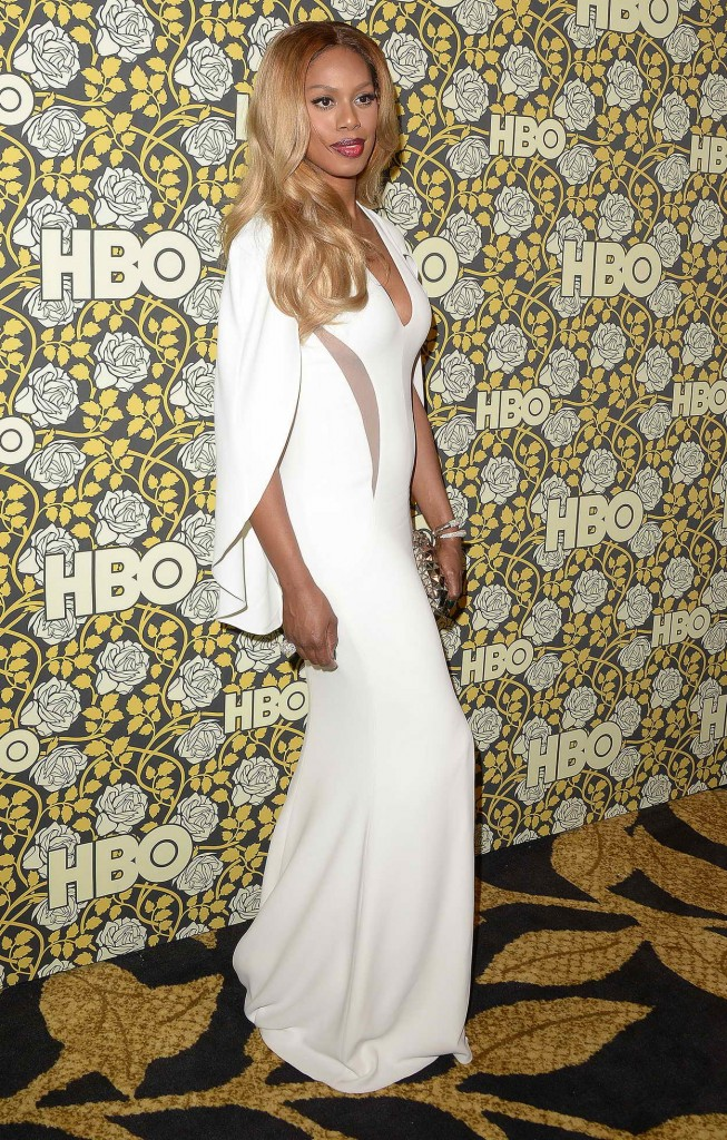 Laverne Cox at HBO's Post 2016 Golden Globe Awards Party in Los Angeles 01/10/2016-4