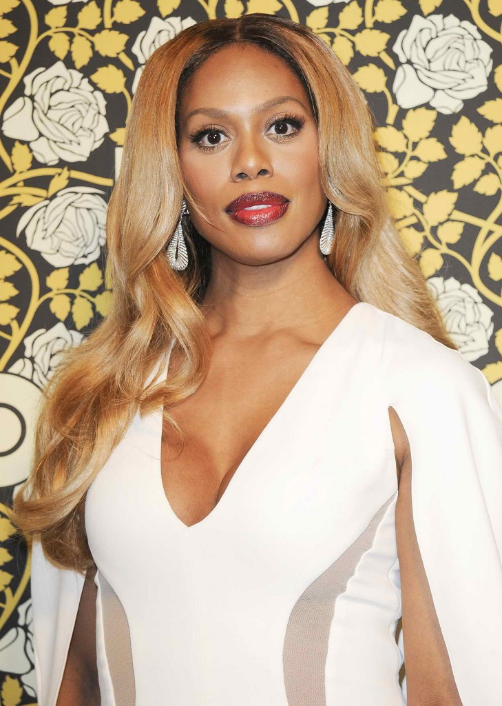 Laverne Cox at HBO's Post 2016 Golden Globe Awards Party in Los Angeles 01/10/2016-5