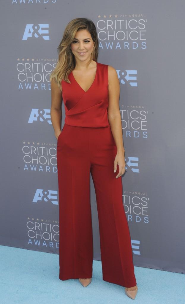 Liz Hernandez at 21st Annual Critics' Choice Awards in Santa Monica 01/17/2016-3