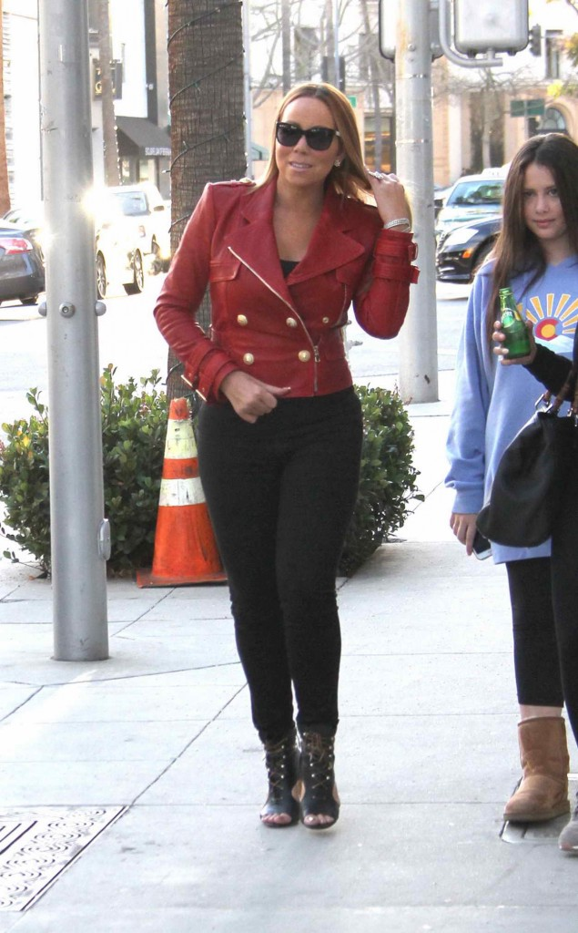 Mariah Carey Out in Beverly Hills  01/13/2016-1