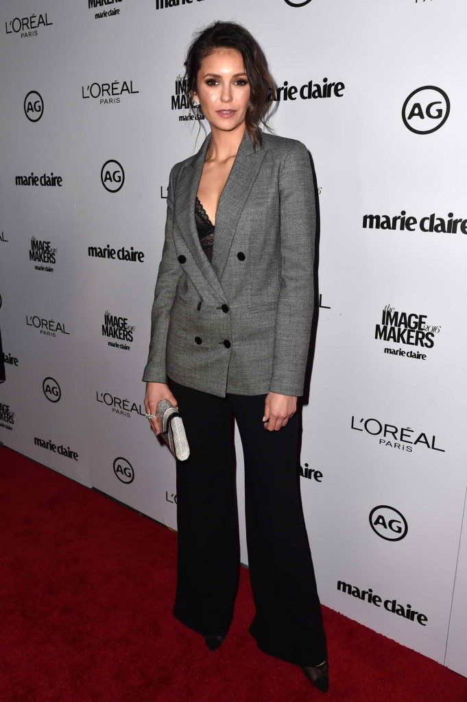 Nina Dobrev at 2016 Marie Claire's Image Maker Awards in LA 01/12/2016-1