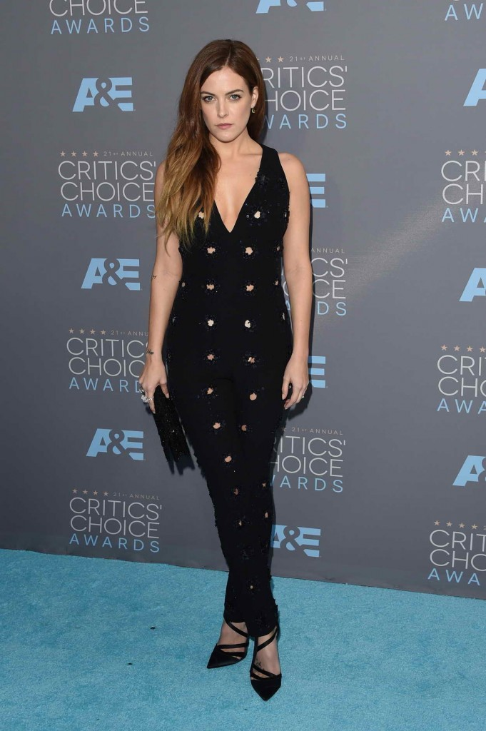 Riley Keough at The 21st Annual Critics' Choice Awards 01/17/2016-1
