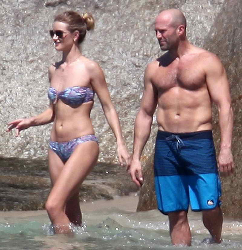 Rosie Huntington-Whiteley in Bikini at the Beach in Thailand 12/29/2015-3