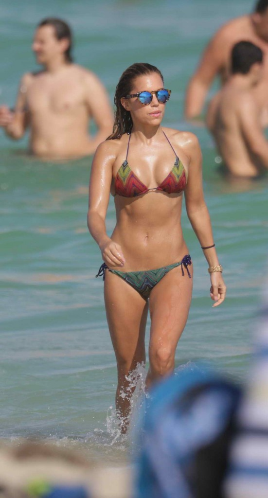 Sylvie Meis in Bikini in Miami 12/29/2015-2