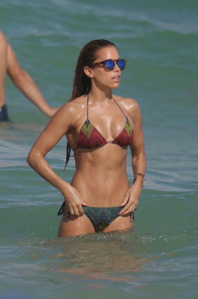 Sylvie Meis in Bikini in Miami 12/29/2015-4
