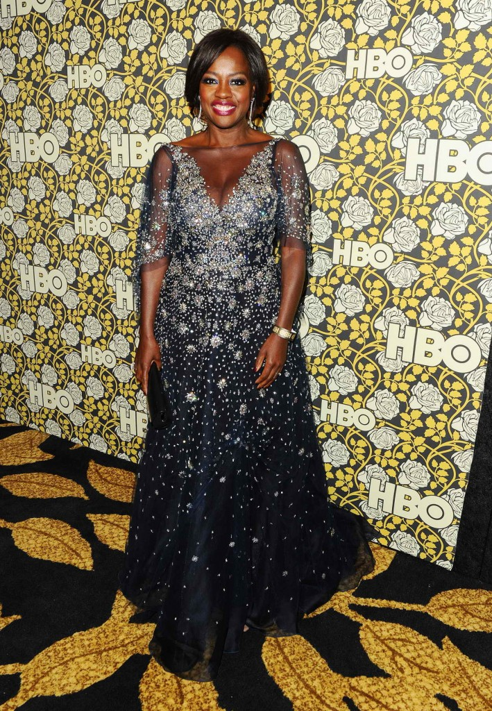 Viola Davis at HBO's Post 2016 Golden Globe Awards Party in Los Angeles 01/10/2016-1