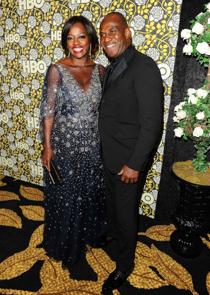 Viola Davis at HBO's Post 2016 Golden Globe Awards Party in Los Angeles 01/10/2016-2