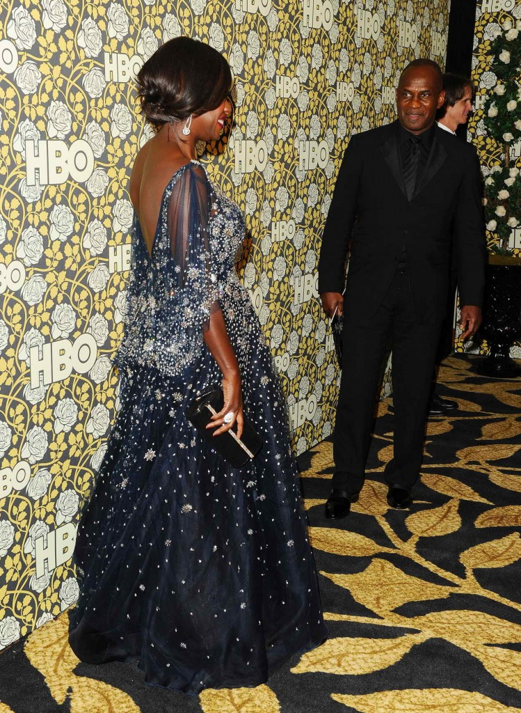 Viola Davis at HBO's Post 2016 Golden Globe Awards Party in Los Angeles 01/10/2016-3