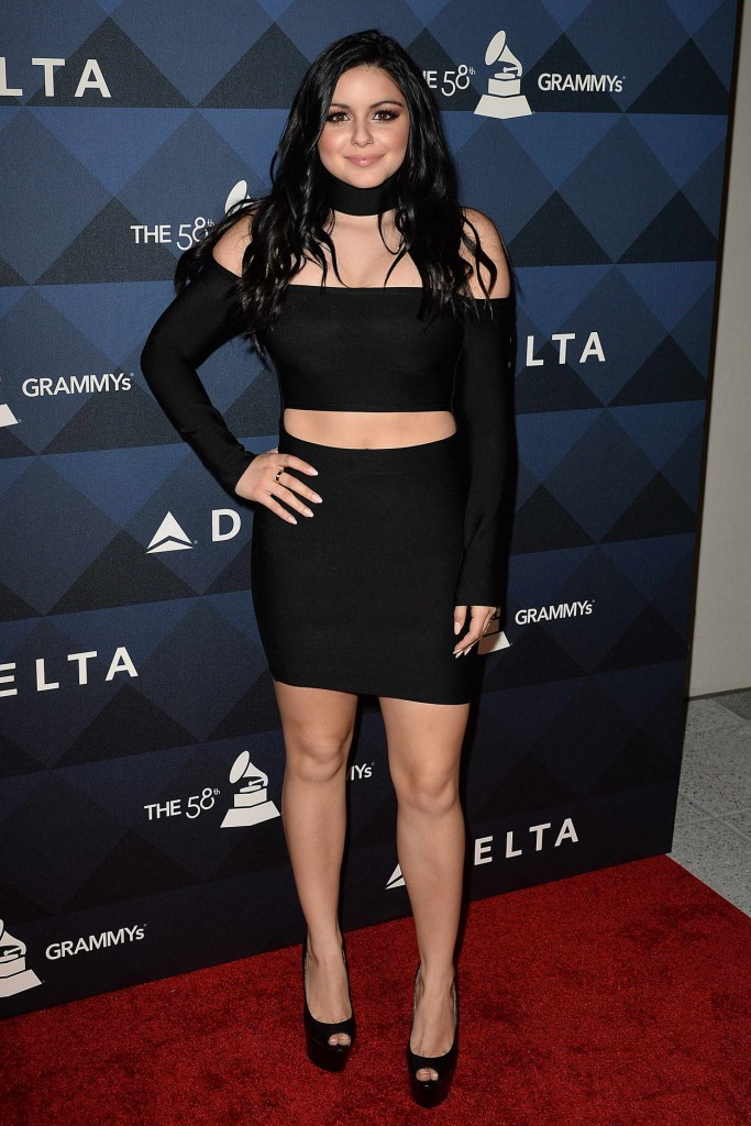 Ariel Winter at Pre-Grammy Party in Los Angeles 02/12/2016-1