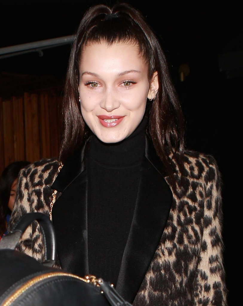Bella Hadid Attends the Nice Guy in West Hollywood 02/19/2016-4