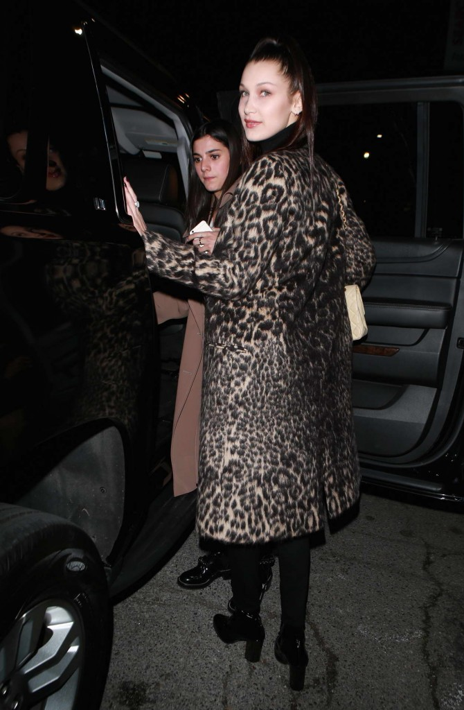 Bella Hadid Attends the Nice Guy in West Hollywood 02/19/2016-6