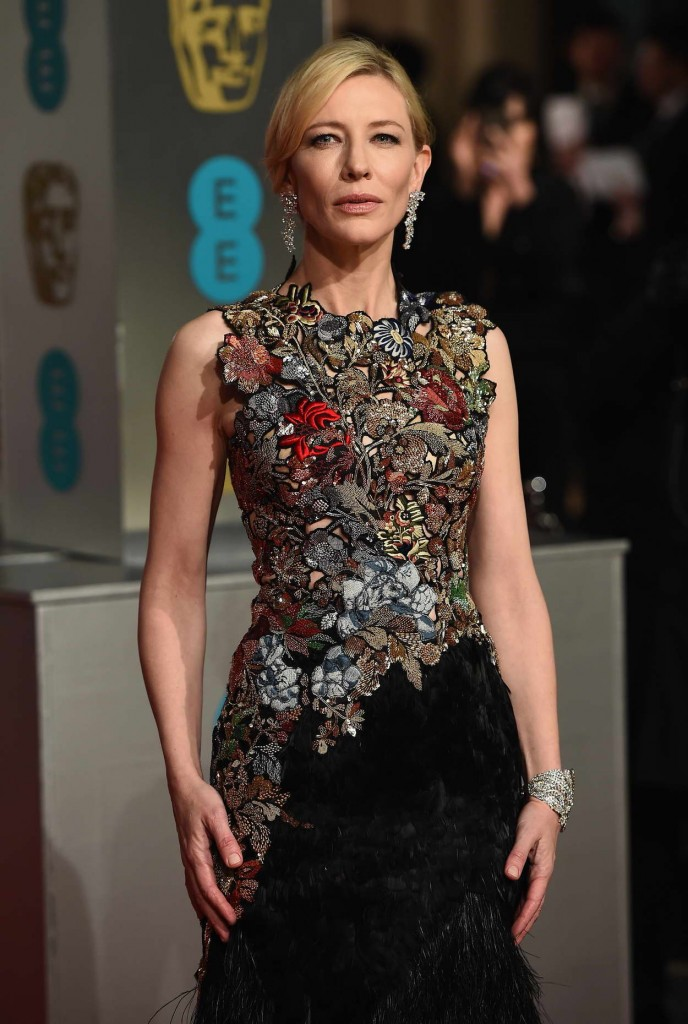 Cate Blanchett at EE British Academy Film Awards in London 02/14/2016-3