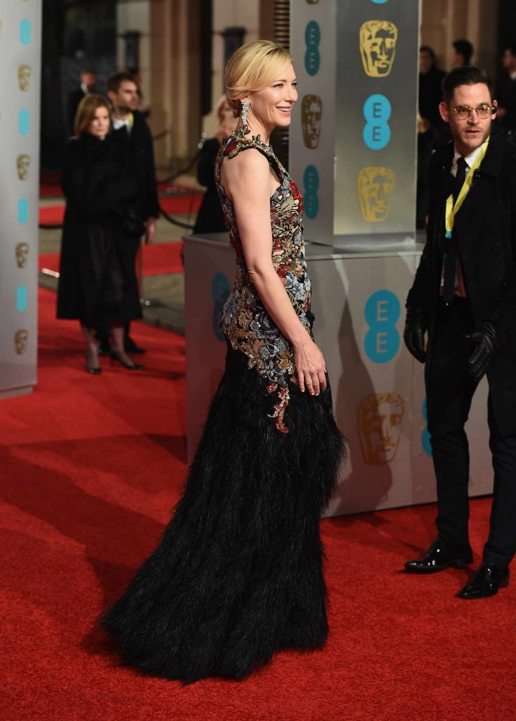 Cate Blanchett at EE British Academy Film Awards in London 02/14/2016-5