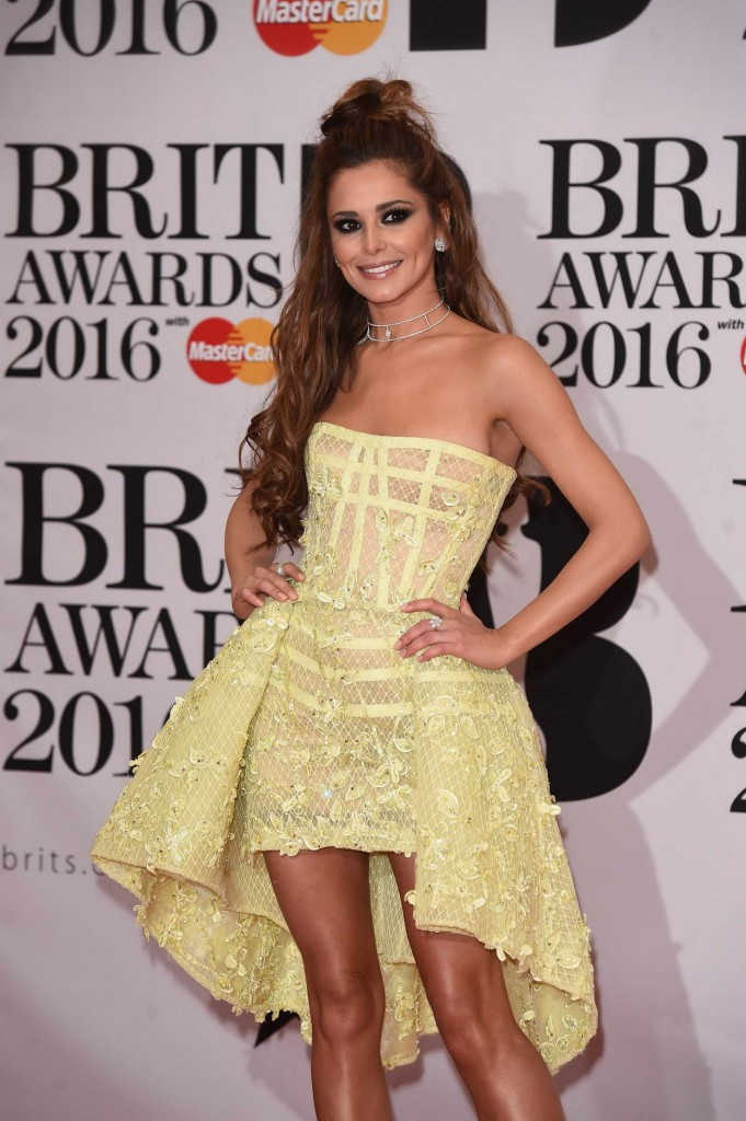 Cheryl Fernandez-Versini at BRIT Awards 2016 in London 02/24/2016-2